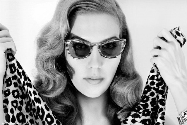 Lovely in Leopard, Lola Devlin photographed by Alexander Thompson for Ponyboy Magazine.