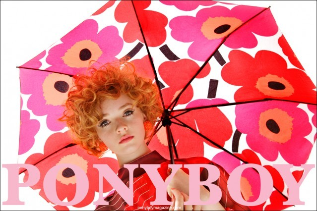 Our Marimekko women's editorial, photographed by Alexander Thompson for Ponyboy Magazine in New York City.