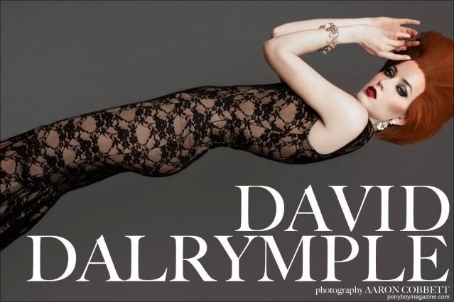 David Dalrymple opener, photographed by Aaron Cobbett. Ponyboy Magazine.