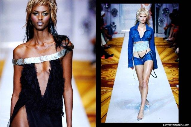 Models walk the runway for New York City designer David Dalrymple. Ponyboy Magazine.