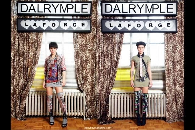 Designer's David Dalrymple & Scooter Laforge Look book images. Ponyboy Magazine.
