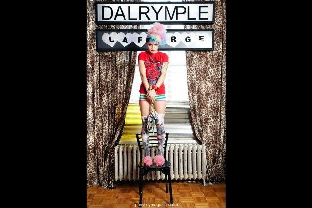 David Dalrymple & Scooter Laforge Look book image. Ponyboy Magazine.