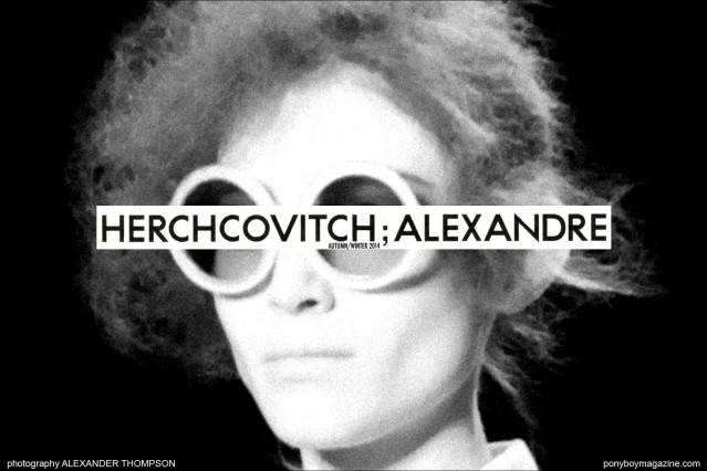 Alexandre Herchcovitch F/W 2014. Photographed by Alexander Thompson for Ponyboy Magazine at Milk Studios in New York City.