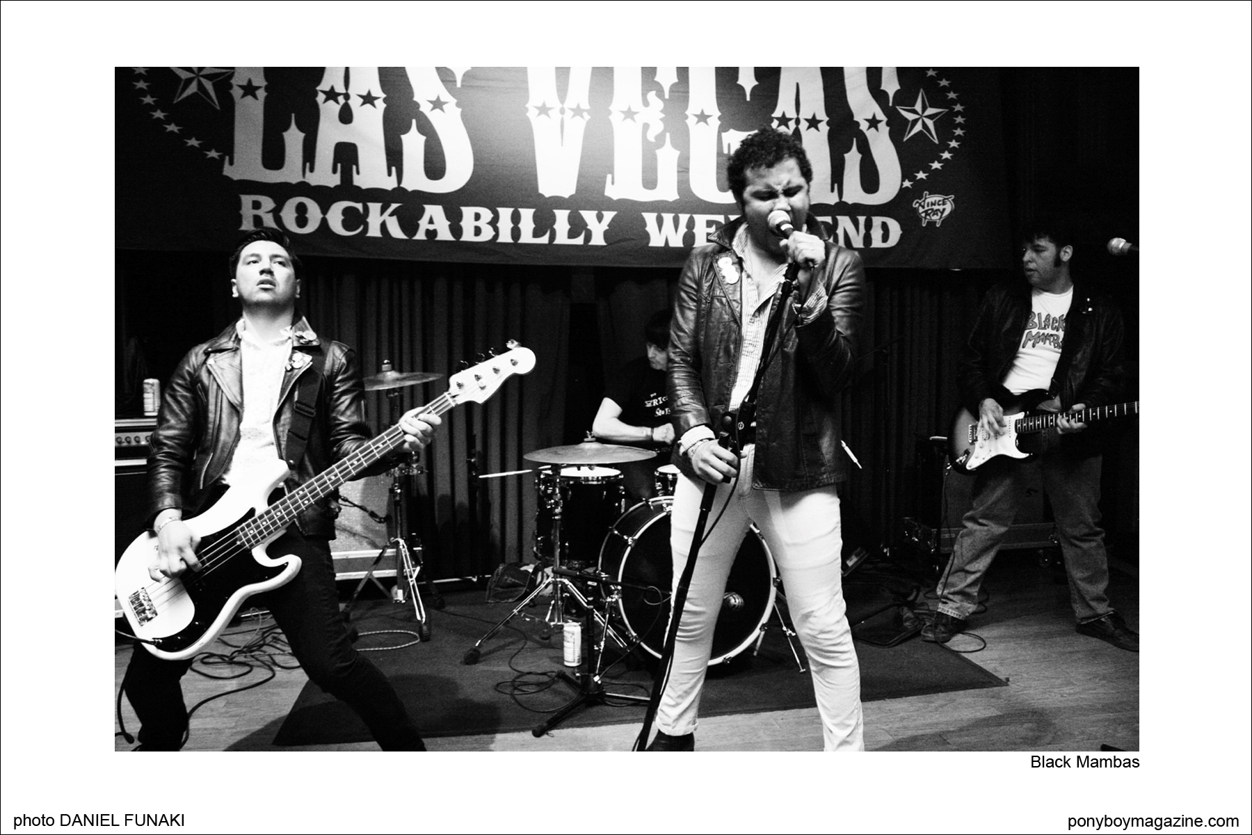 Black Mambas, on the Reb Kennedy's Wild Records label. Photo by Daniel Funaki. Ponyboy Magazine.