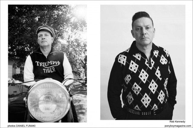Wild Records founder Reb Kennedy. Photographed by Daniel Funaki. Ponyboy Magazine.