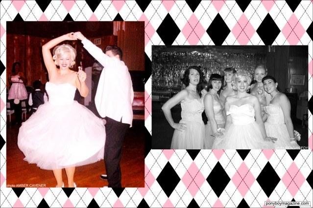 Photos of The Rockabilly Socialite at The Rockabilly Prom, Ponyboy Magazine.