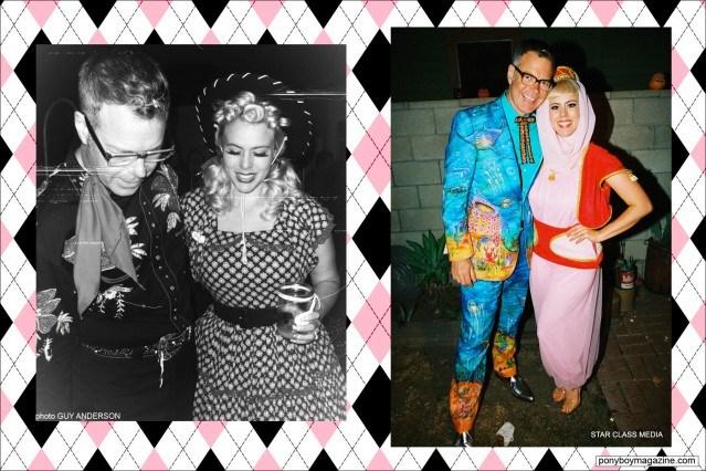 Party pics of The Rockabilly Socialite, Ponyboy Magazine.