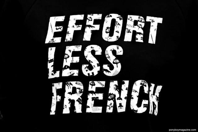 """Effort Less French"". Maison Kitsune Spring/Summer 2015. Photograph by Alexander Thompson for Ponyboy Magazine."