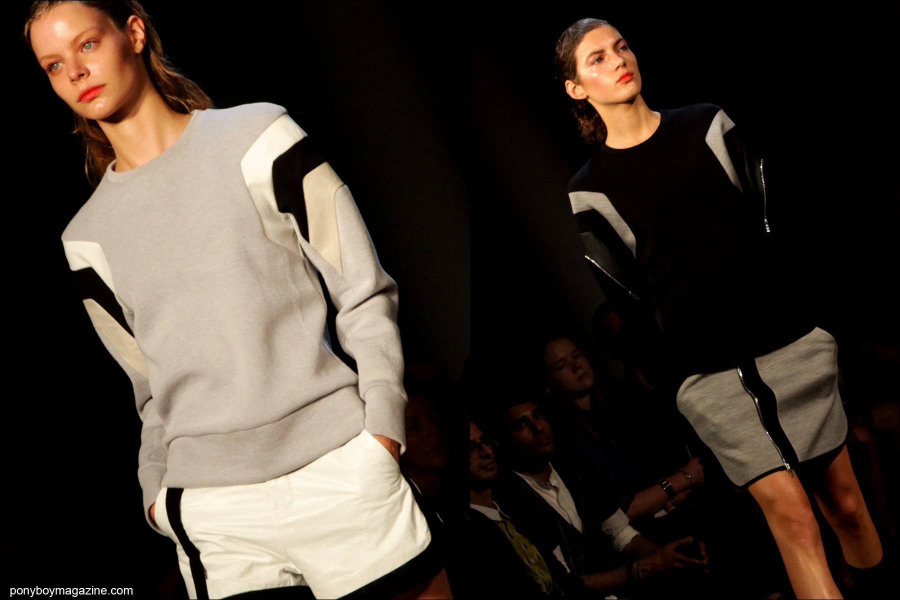 The debut of Tim Coppens S/S 2015 womenswear in New York City. Photos by Alexander Thompson for Ponyboy Magazine.