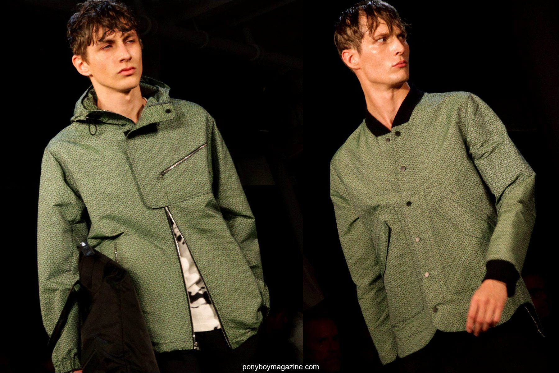 Menswear by Tim Coppens S/S15 , at Milk Studios in New York. Photos for Ponyboy Magazine by Alexander Thompson.