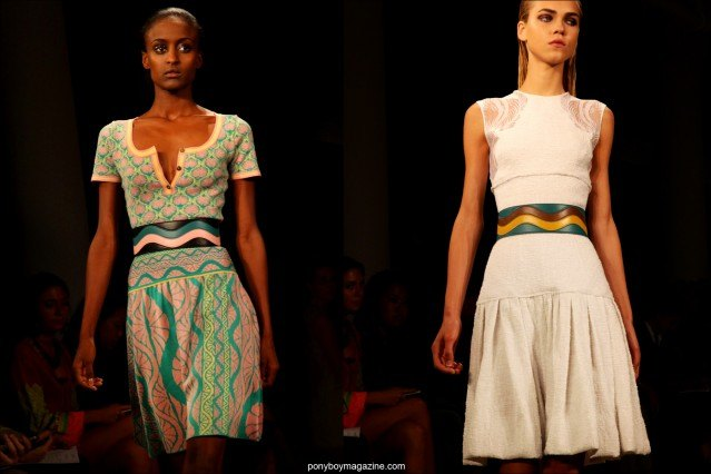 Spring/Sumer 2015 collection by Sophie Theallet, shown during New York Fashion Week. Photographs by Alexander Thompson for Ponyboy Magazine.