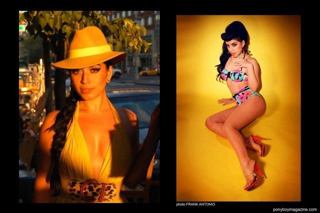 The beautiful Jasmin Rodriguez, photographed by Frank Antonio. Ponyboy Magazine.