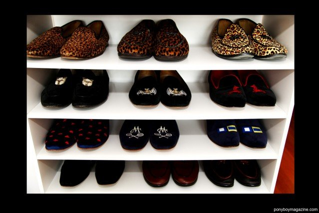 Shoes from the personal collection of Peter Davis. Ponyboy Magazine.