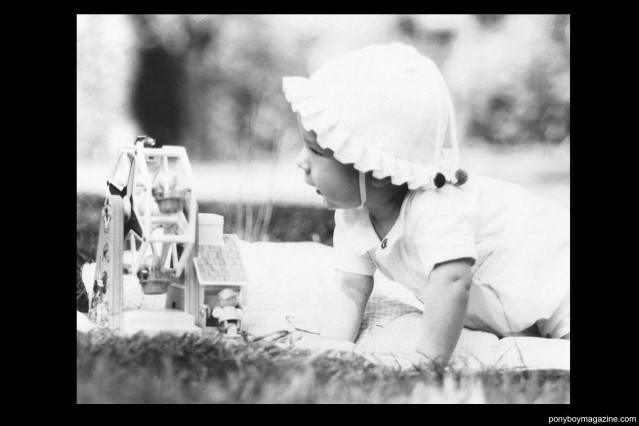 Baby photo of Peter Davis. Ponyboy Magazine.