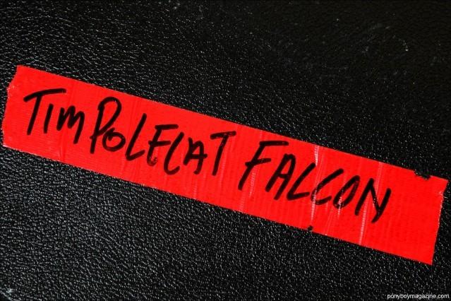 Tim Polecat's Gretsch guitar case. Photographed by Alexander Thompson for Ponyboy Magazine.