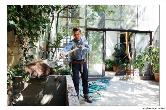 Jim Landwehr, hard at work. Ponyboy Magazine.
