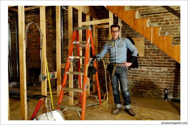 """From Ponyboy Magazine feature on Jim Landwehr, """"workin_in_workwear"""" on Instagram."""