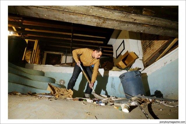 """Carpenter Jim Landwehr, """"workin_in_workwear"""". Ponyboy Magazine."""