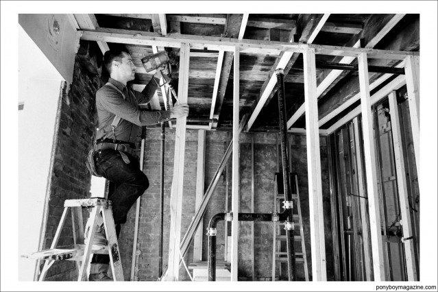 """Worker Jim Landwehr, from """"workin_in_workwear"""" on Instagram. Ponyboy Magazine."""
