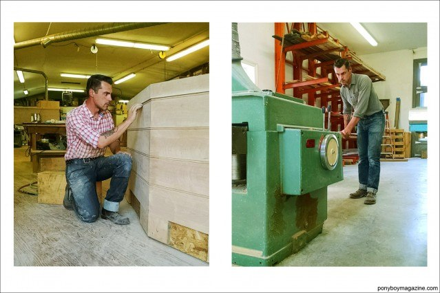 """Photos of Jim Landwehr, from Instagram profile """"workin_in_workwear"""". Ponyboy Magazine."""