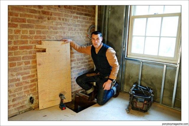 Carpenter Jim Landwehr. Ponyboy Magazine.
