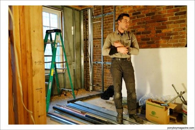 """Jim Landwehr AKA """"workin_in_workwear"""". Ponyboy Magazine."""