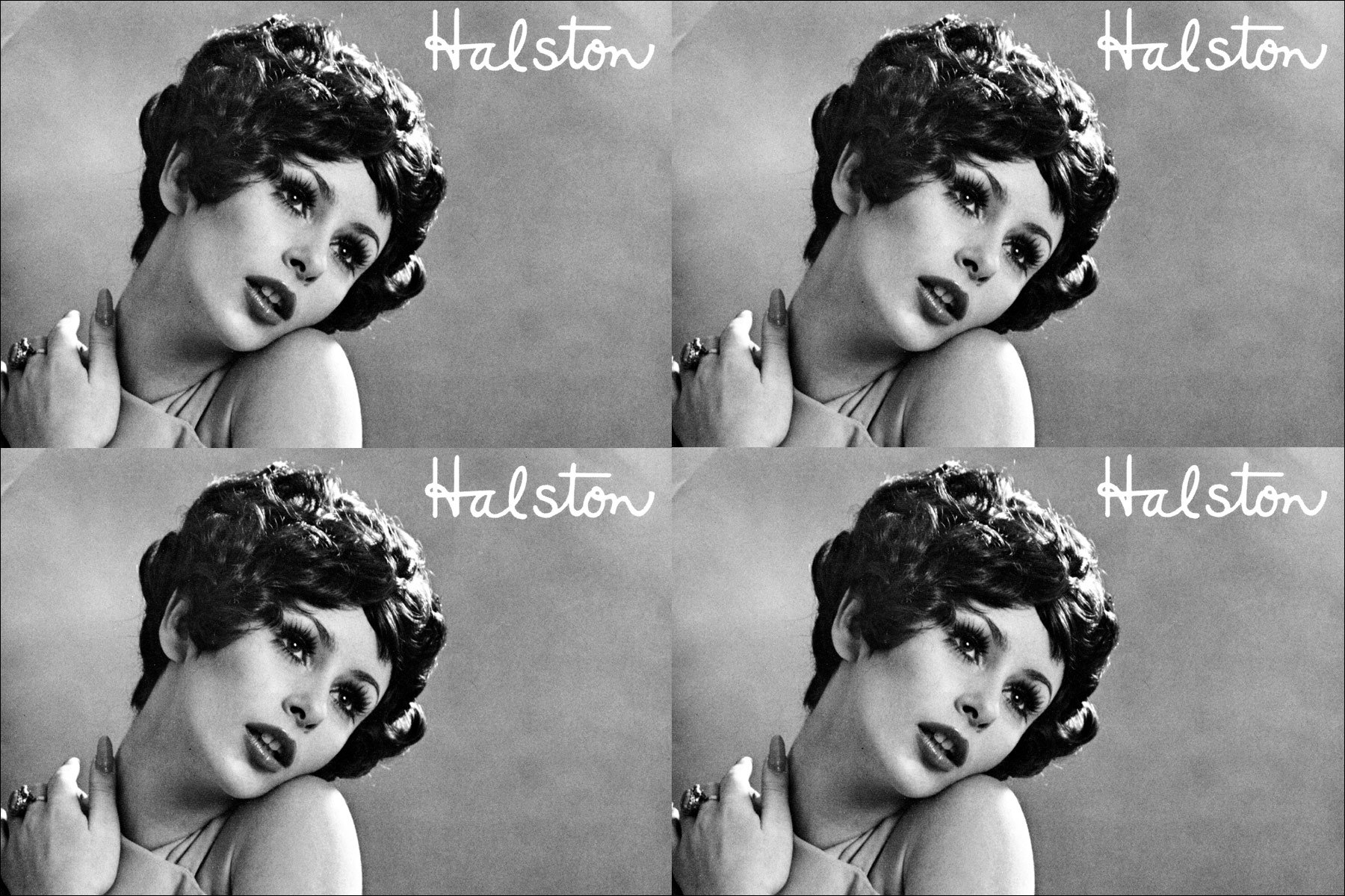 Cover image for Halston wig booklet. Ponyboy Magazine NYC.