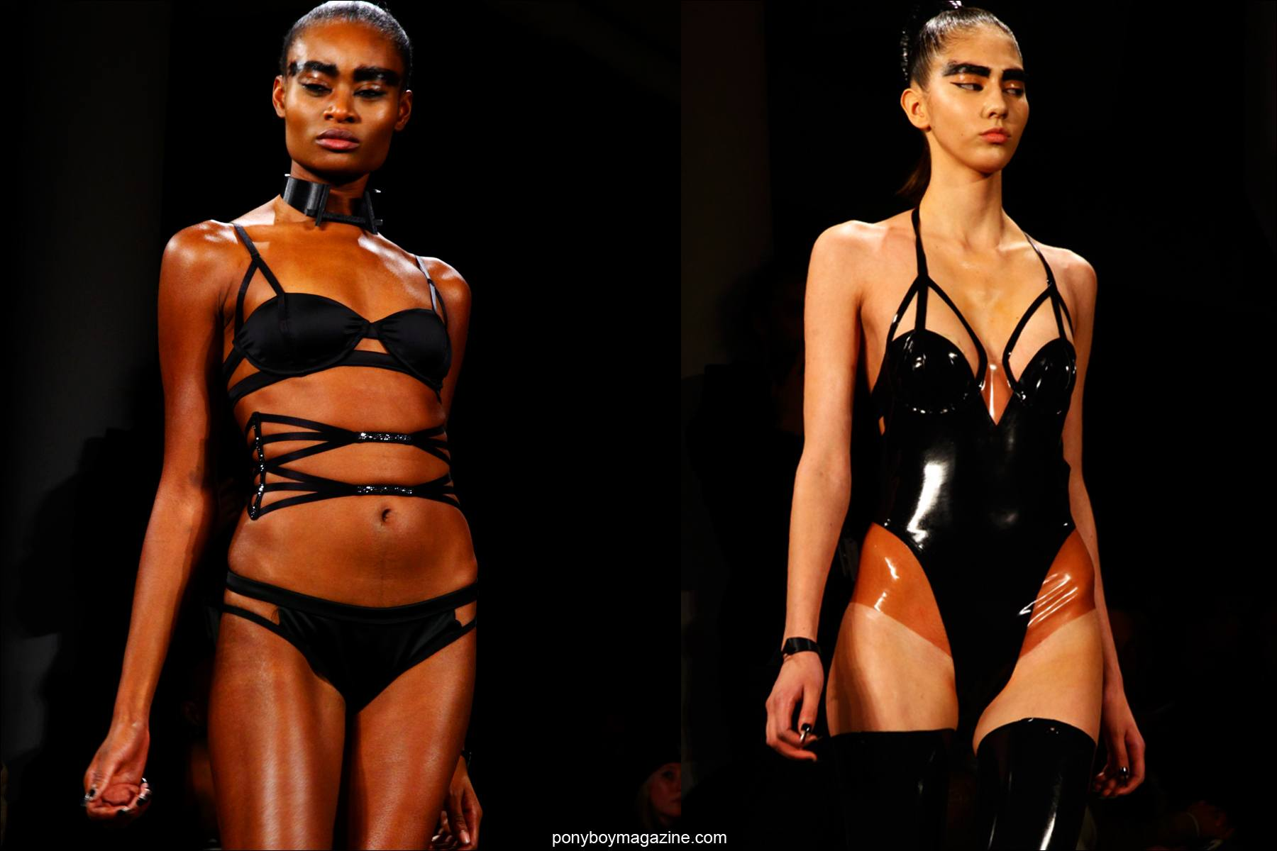 Structured designs at Chromat F/W15 collection. Photographed by Alexander Thompson for Ponyboy magazine in New York City.