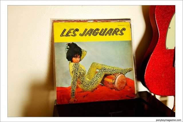 Les Jaguars album cover, from the record collection of Justin Dean Thomas. Ponyboy magazine.