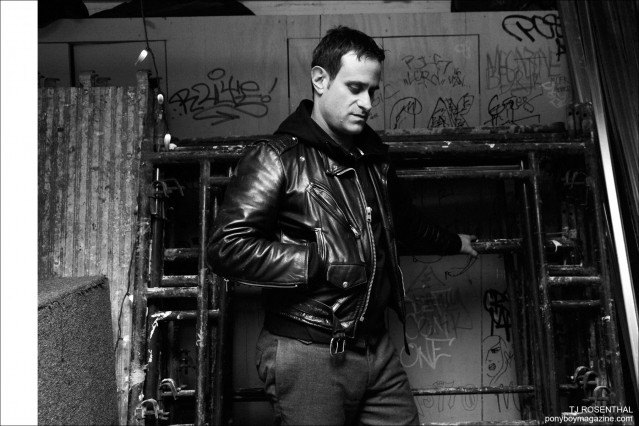 TJ Rosenthal, musician from The Bowery Riots. Photograph by Alexander Thompson for Ponyboy magazine.