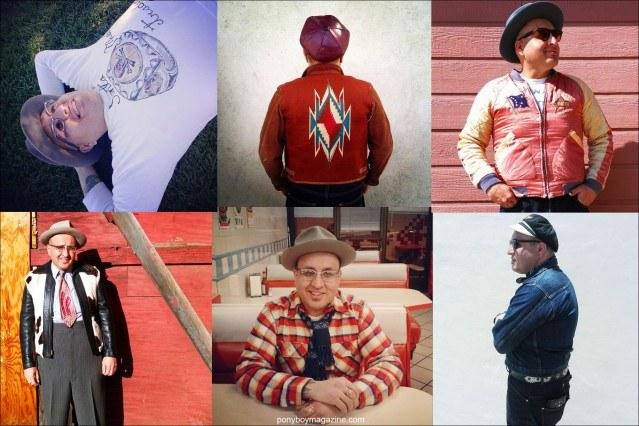 Incredible men's vintage wear from Santa Muerte Trading Co. Ponyboy magazine.