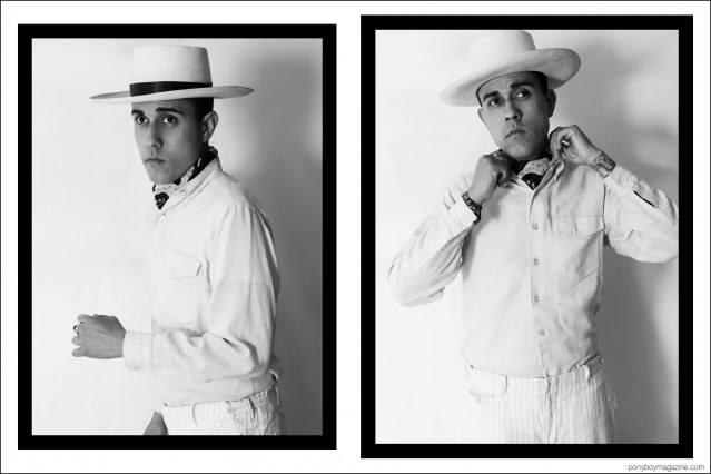 Daniel Luna, photographed by Alexander Thompson for Ponyboy magazine.