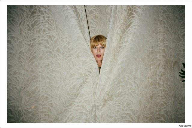 Dj/model Alix Brown, photographed by Kristin Gallegos. Ponyboy magazine.