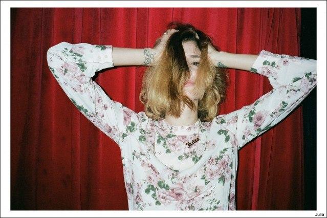 The beautiful Julia, photographed by Kristin Gallegos. Ponyboy magazine.