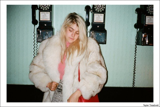 Taylor Treadwell photographed by Kristin Gallegos. Ponyboy magazine.