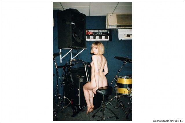 Sienna Scarrit, photographed by Kristin Gallegos for Purple magazine. Ponyboy magazine.