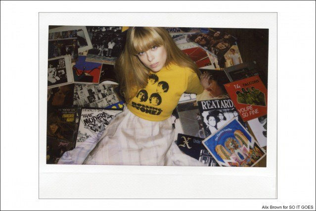 Alix Brown photographed by Kristin Gallegos for So It Goes magazine. Ponyboy magazine.