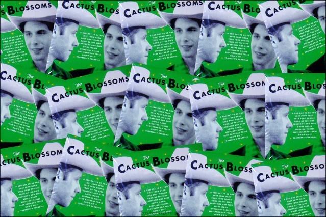 Album artwork for the Cactus Blossoms. Ponyboy magazine.