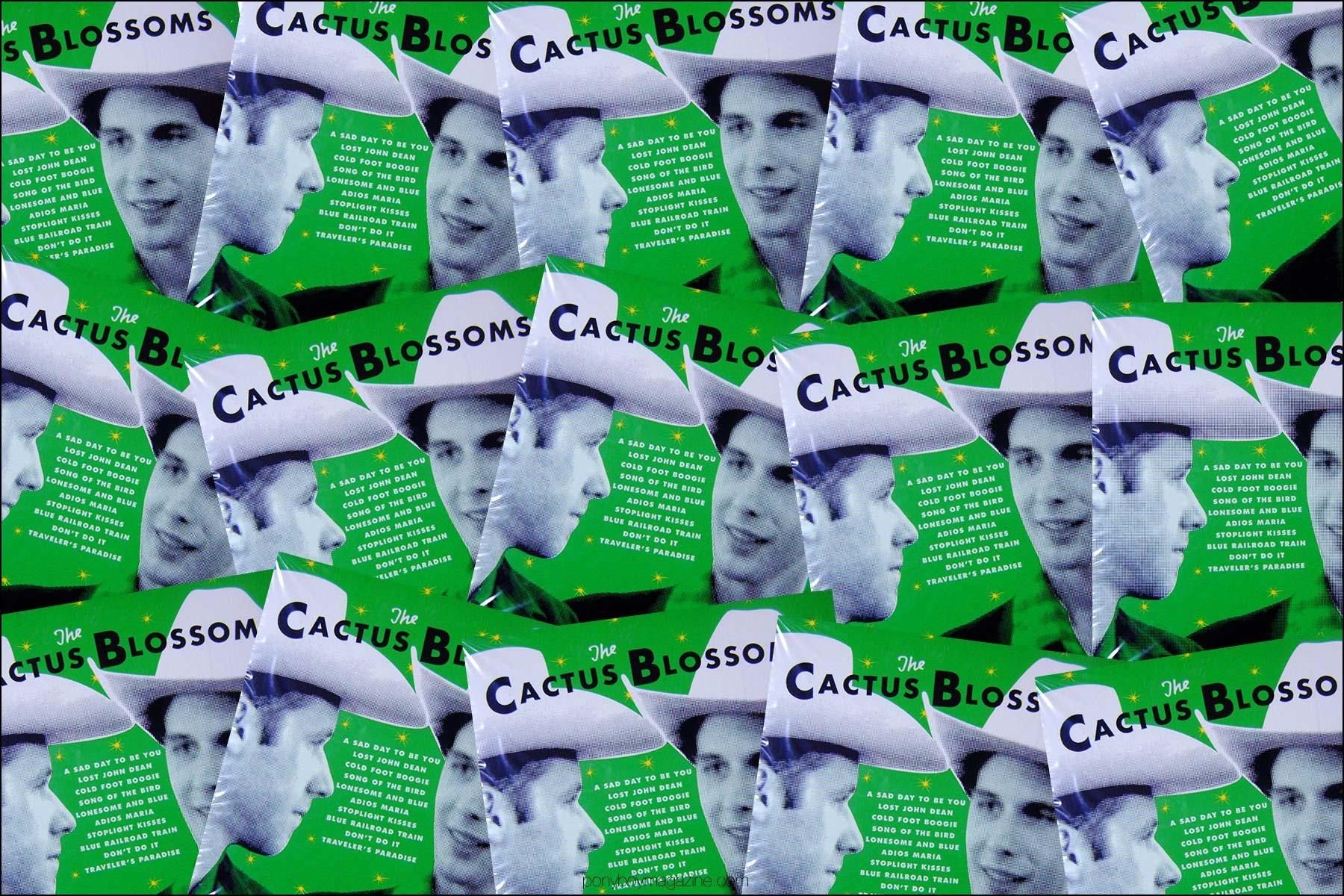 Album artwork for the Cactus Blossoms. Ponyboy magazine NY.