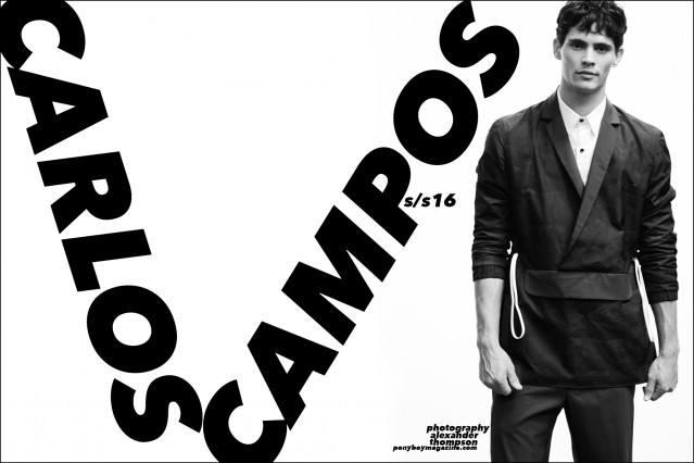 Carlos Campos Spring/Summer 2016 presentation, photographed by Alexander Thompson at Industria Studios for Ponyboy magazine.