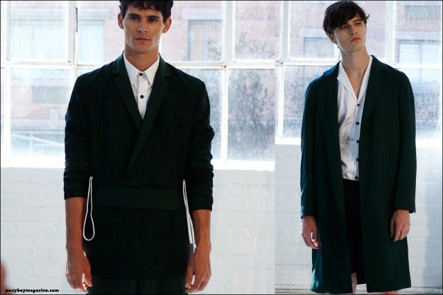 Models in the Carlos Campos Spring/Summer 2016 presentation, photographed by Alexander Thompson for Ponyboy magazine.