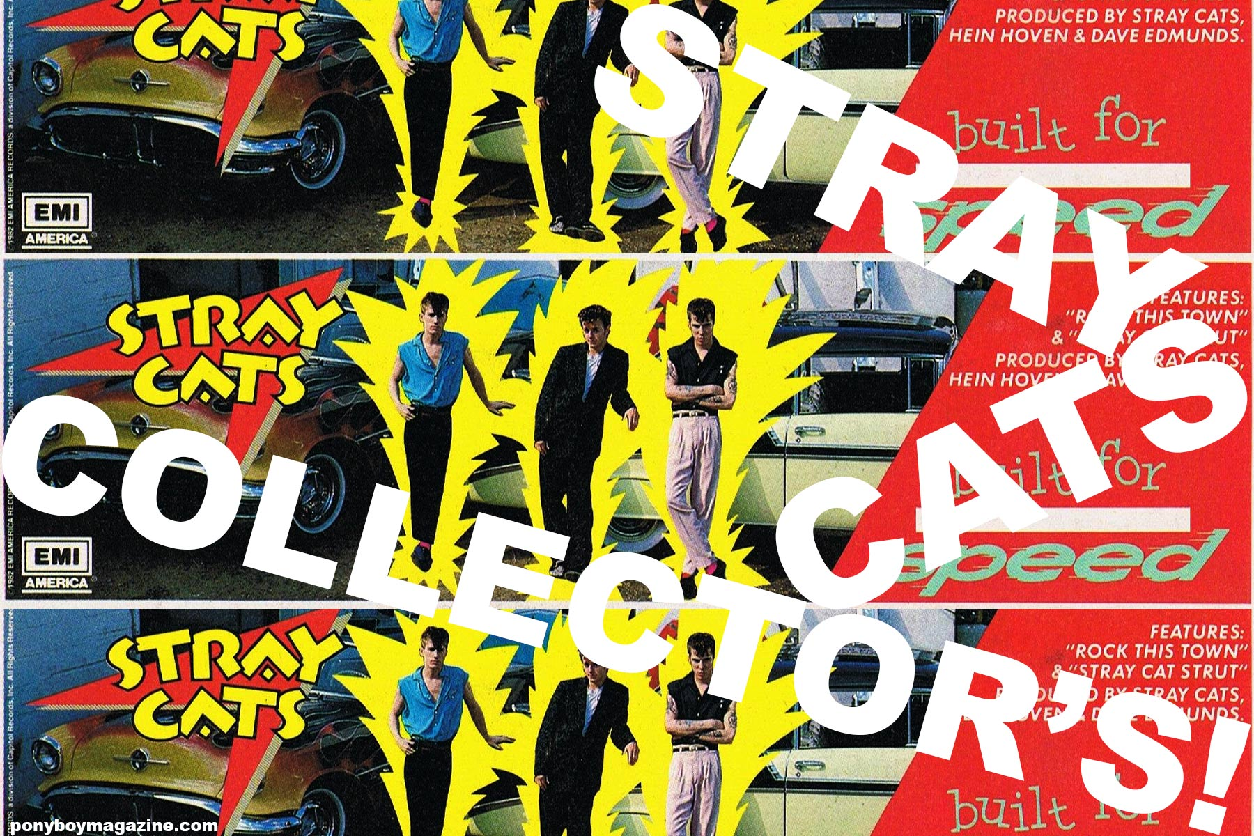 Stray Cat's Collector's. Ponyboy magazine.