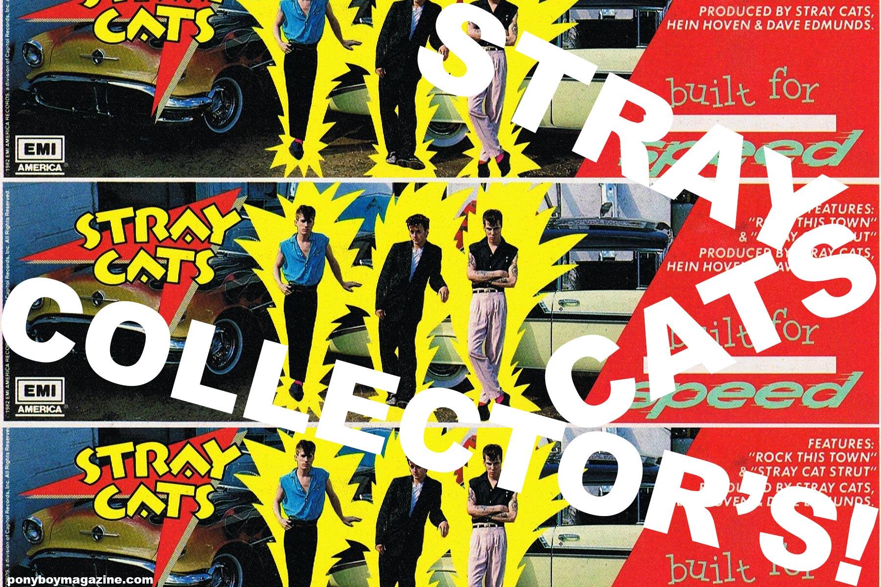 Stray Cat's Collector's. Ponyboy magazine.