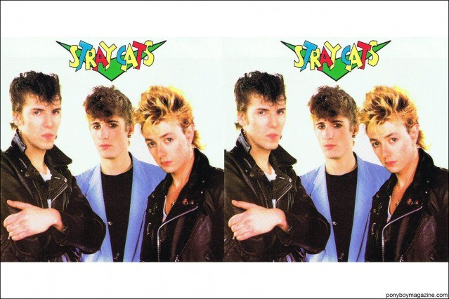 Stray Cats photos, from the collection of Stray Cats Collector's. Ponyboy magazine.