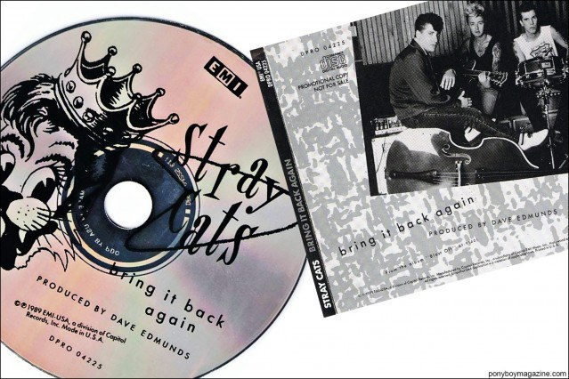 """Stray Cats """"Bring It Back Again"""", from the collection of Stray Cats Collector's. Ponyboy magazine."""