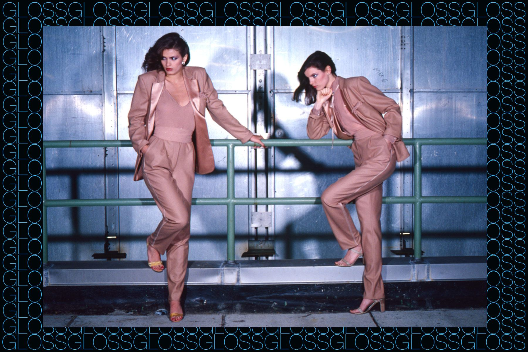 Superstar model Gia Carangi photographed by the late great fashion photographer Chris von Wangenheim, featured in GLOSS by Roger Padilha & Mauricio Padilha. Ponyboy magazine NY.