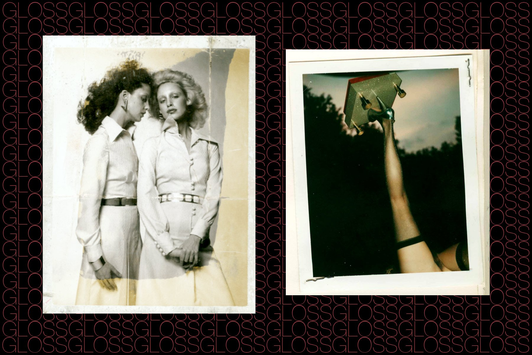 Polaroids from the collection of the Chris von Wangenheim estate, featured in the book GLOSS by Roger Padilha & Mauricio Padilha, Rizzoli 2015. Ponyboy magazine NY.