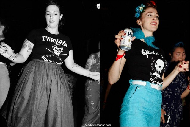 Beautiful and stylish ladies snapped at Hula Rock Vol 2 rockabilly weekender in New York City. Photographs for Ponyboy magazine by Alexander Thompson.