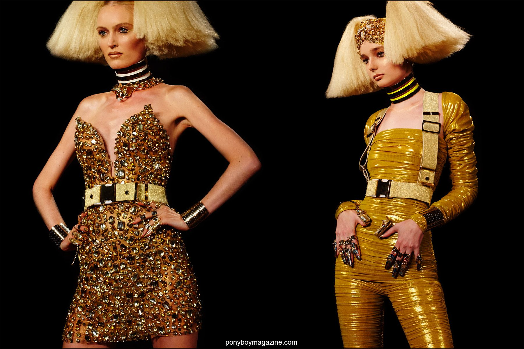 The latest designs from the Blonds, for S/S16, photographed by Alexander Thompson for Ponyboy magazine NY.