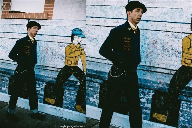 Photographs of musician Pokey LaFarge by Joshua Black Wilkins. Ponyboy magazine.